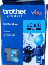 LC-38BK Mực in Brother Black Cartridge DCP-145C /  DCP-165C / MFC-250C / MFC-290C