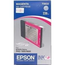 C13T603C00 Mực in phun Epson Light Magenta Ink Cartridge (220ml) - SPro7800  /  9800  /  7880  /  9880