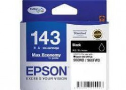 C13T143190 Mực in phun Epson Black Ink Cartridge - BIX2 (TBS ,  L size) (ME32 ,  ME320)