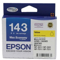 C13T143490 Mực in phun Epson Yellow Ink Cartridge - DFP2 (TBS ,  S size) (ME32 ,  ME320)